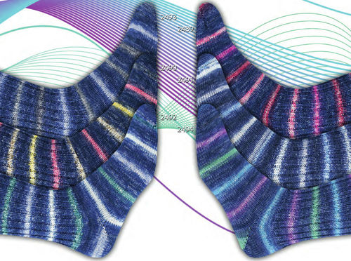 ONline Supersocke Silk Color