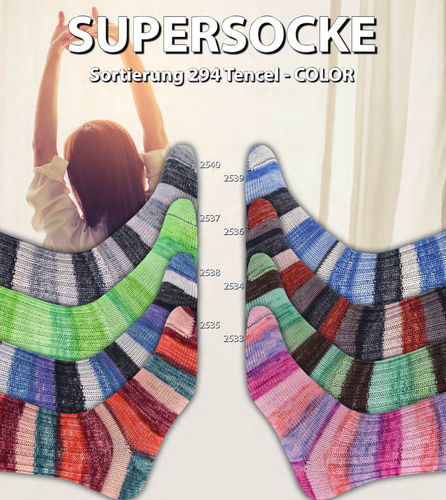 ONline SupersockeTencel Color